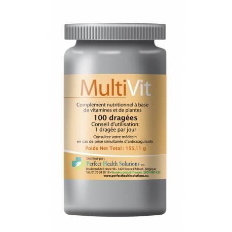MultiVit est un complexe vitaminique essentielles pour combler les carences en vitamine. Il donne un apport en vitalité et éner