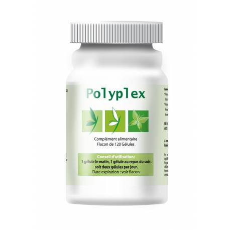 Polyplex régule les problèmes de peau à répétition ou d'hypersensibilité de la peau (alimentation, poils d'animaux). Il est comp