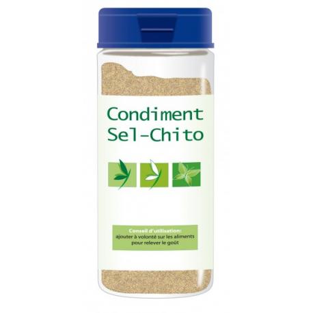 Sel CHITO est un sel de mer dont les liaisons des molécules de Sodium et Chlore ont été dissociées par un polymère biologiqu