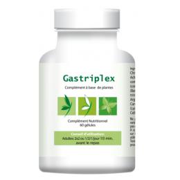 Gastriplex est un compléments alimentaire naturel à base de plantes, il vous aidera en cas de problèmes digestifs, d'éructations