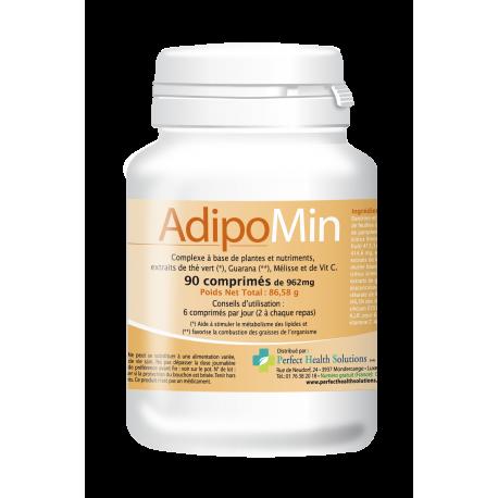 Adipomin est un complément alimentaire 100% naturel qui contribue à un métabolisme lipidique normal il est ideal pour soutenir l